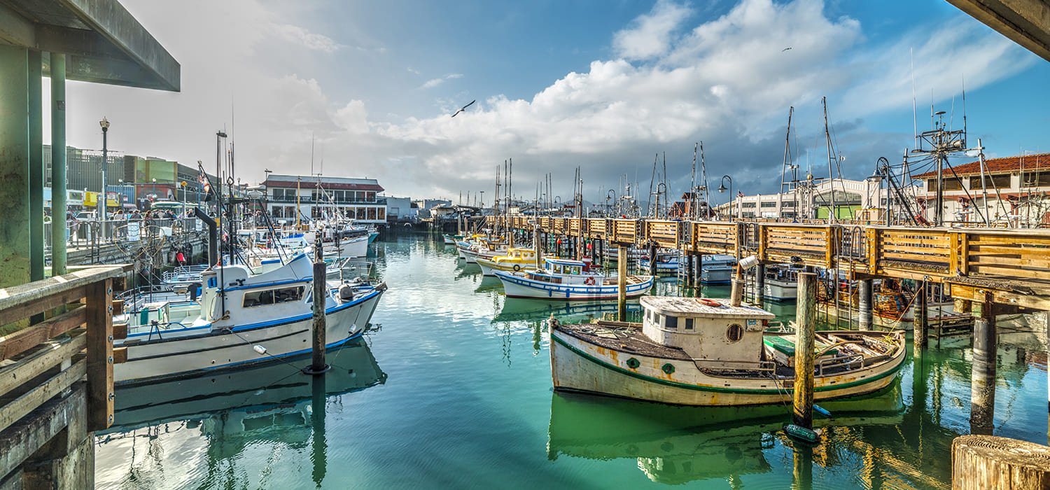 LOCATED NEARBY SAN FRANCISCO'S TOP ATTRACTIONS LIKE FISHERMAN'S WHARF