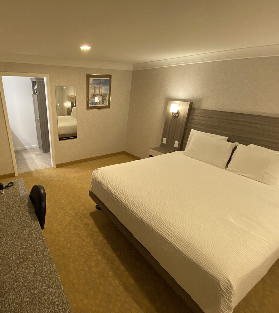 FIND COMFORTABLE GUEST ROOMS  AT OUR DOWNTOWN SAN FRANCISCO HOTEL